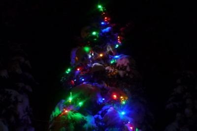 Дед Мороз на старте