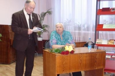 Презентация новой книги Галины Киселёвой в Лихославле