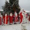 «Парад Дедов Морозов» в этно-культурном центре Мяммино