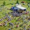 III фестиваль карельского пирога «Калитка» с высоты птичьего полета, 19 августа 2017 года