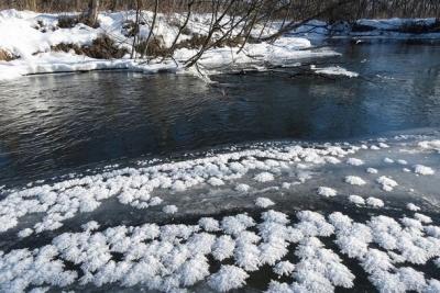 Большая опасность неокрепшего льда