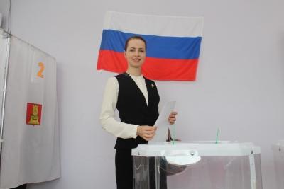 Лихославль выбирает Президента Российской Федерации