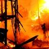 Как себя вести, если пожар возник в общественном месте?