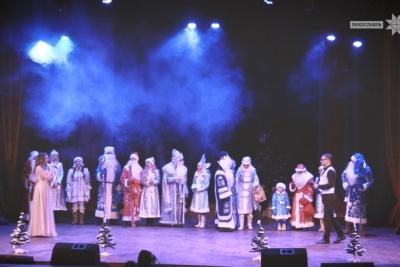 В Лихославле прошел Парад Дедов Морозов