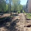 В Лихославле отремонтируют дворы многоквартирных домов на улице Школьной