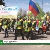В Лихославле прошла районная праздничная первомайская демонстрация трудящихся