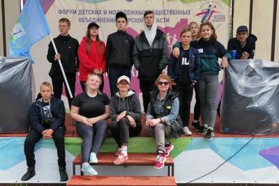 Делегация Лихославльского района побывала на фестивале детских и молодежных общественных объединений «Содружество 2019»