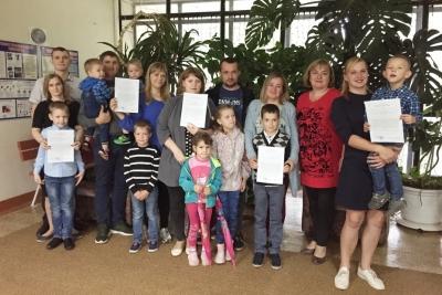 В поселке Калашниково реализуется программа «Обеспечение жильем молодых семей»
