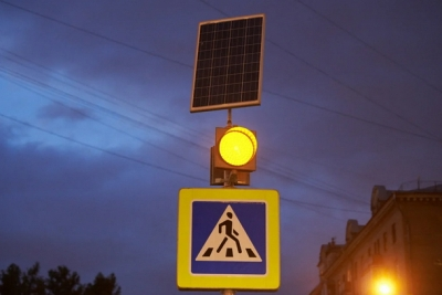 На улицах Лихославля установят импульсные светофоры и пешеходные ограждения