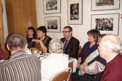 Заседание клуба «Оптимист» в форме встречи с главой Лихославльского района