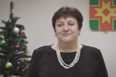 Поздравление Главы Лихославльского района Натальи Виноградовой с Новым 2018 годом и Рождеством Христовым