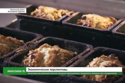 Лихославльская делегация посетила олонецкие промышленные предприятия, намечены пути сотрудничества