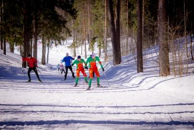 В Калашниково прошли заключительные лыжные гонки сезона