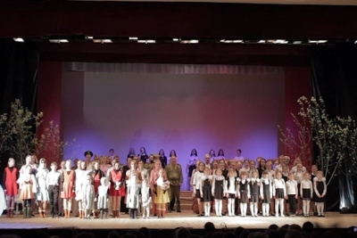 Праздничный концерт в поселке Калашниково, посвященный Дню Победы, 9 мая 2018