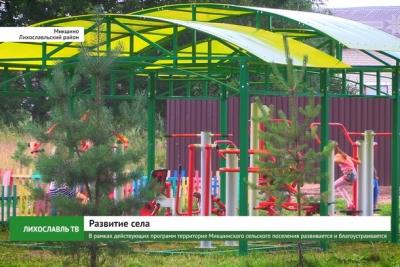 В рамках действующих программ территория Микшинского сельского поселения развивается и благоустраивается