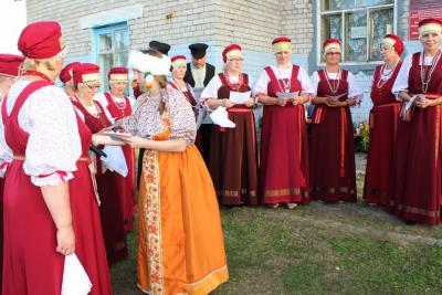 Посиделки Лумитайкури, Клюковки и Морошки с гостями из Карелии