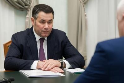 Губернатор Игорь Руденя находится с рабочей поездкой в Лихославльском районе