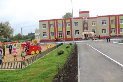 В поселке Калашниково состоялось торжественное открытие нового детского сада