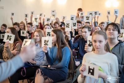 Волонтеры из Тверского государственного университета провели занятие в Лихославле