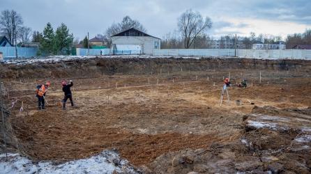 В Лихославле началось строительство нового детского сада