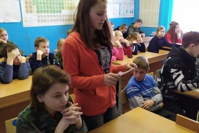 В Микшинской школе почтили память жертв Холокоста