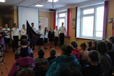 Микшинскую школу посетили гости из Московского Государственного Университета им. Ломоносова