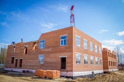 Строительство нового детского сада в Лихославле идет по графику
