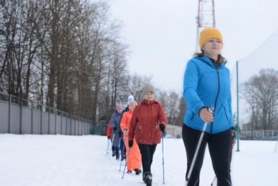 Скандинавская ходьба в Лихославле