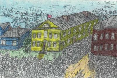 Лихославльская библиотека представила новые электронные краеведческие альбомы по истории района