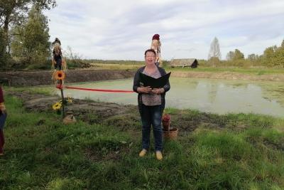В деревне Бронино появился пруд
