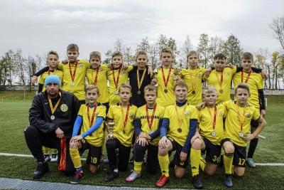 Бронза областного Первенства по футболу среди юношей 2008 г.р.