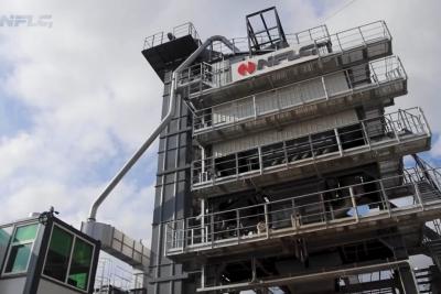 В Лихославле выходит на проектную мощность Асфальтобетонный завод NFLG серии Duetto 3000M