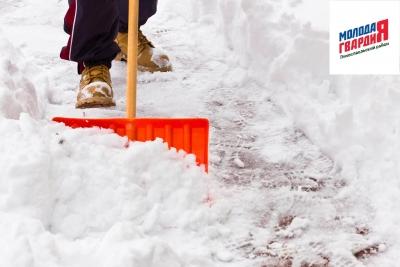 «Молодая Гвардия Единой России» поможет в расчистке снега одиноким пожилым людям и людям с ограниченными возможностями здоровья