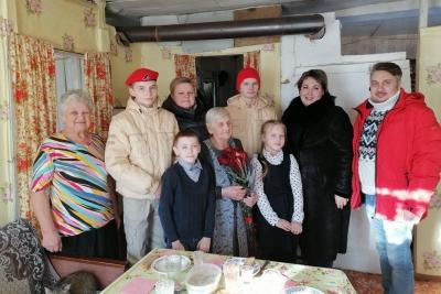 Труженица тыла Мария Ивановна Беляева отметила 95-летний юбилей