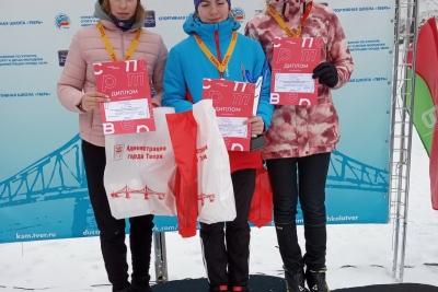 Дмитриева Дарья стала призером областных соревнований по лыжным гонкам