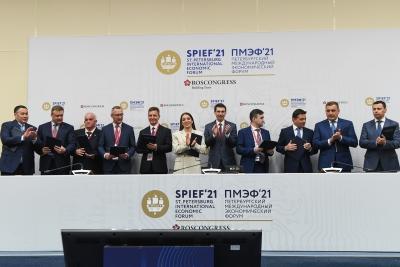 ПМЭФ-2021: Тверская область войдет в «Большое Золотое кольцо» России