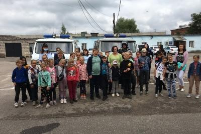 Лихославльские школьники посетили с экскурсией отделение полиции