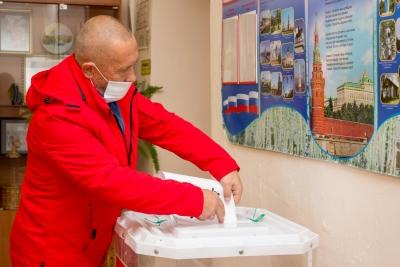 Лихославльский муниципальный округ активно голосует