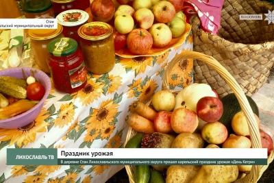 В деревне Стан Лихославльского муниципального округа прошел карельский праздник урожая «День Кегри»