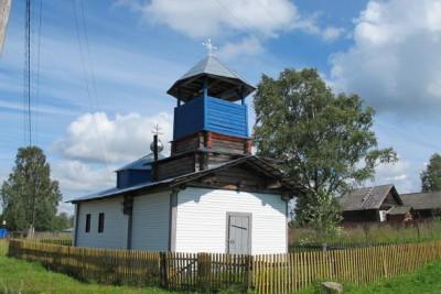 Часовня великомученика Власия в деревне Васильки